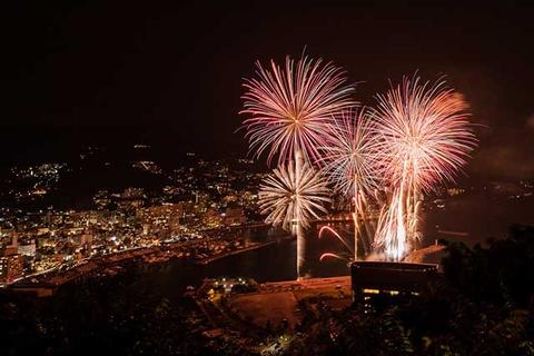 이즈의 불꽃 축제
