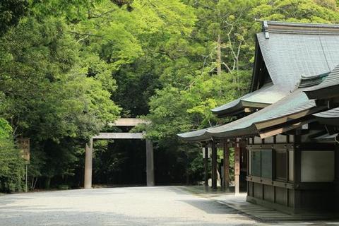 Ise Jingu (Naiku) - main shrine Kotai Jingu