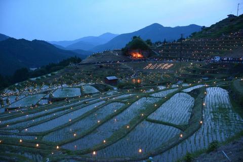자연과 인간의 조화, 일본의 아름다운 계단식 논 8선