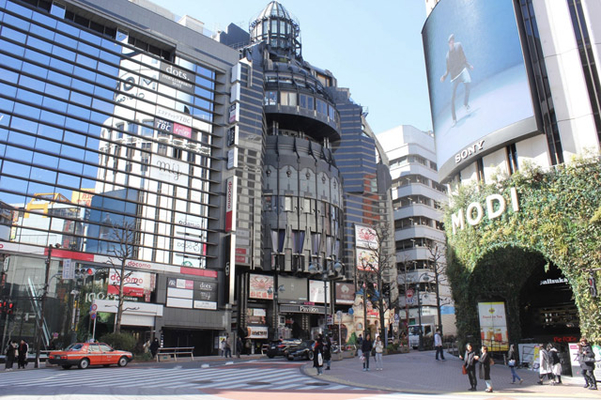 Overview in Shibuya