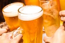 暑い夏に冷たいビール!最高ですね。