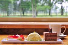有名洋菓子店で修行を積んで生まれ故郷でお店を開いたという、オーナーシェフが作るケーキは絶品!