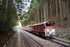 大井川上流の秘境を行くミニ列車の旅