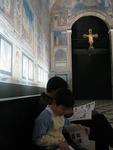 世界の名画が、等身大の陶板で再現された大塚国際美術館。どうやって回るか作戦会議