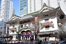 歌舞伎座外観・全景