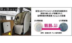 「WILLER EXPRESS」空間除菌消臭装置Aeropureを設置したReBorn(リボーン)でさらなるコロナ対策へ