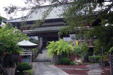 済広寺、別名「榧(かや)の寺」の本堂