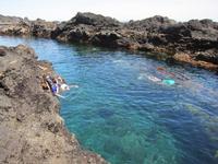 式根島泊海水浴場
