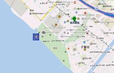千葉開府890年記念 幕張ビーチ花火フェスタ2016 打ち上げ場所
