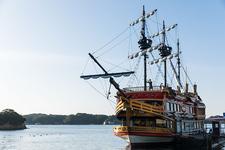 遊覧船「賢島エスパーニャクルーズ」で優雅に船旅。