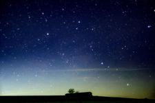 こんな星空を見てたら日頃の悩みなんて小さく思えそう!