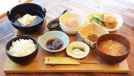 「卵かけご飯セット」1,200円(税込)