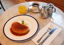 朝食メニュー 「パンペルデュ」 1188円(税込)