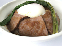 「常陸牛ローストビーフ丼」1,200円