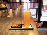 フレッシュジュース(リンゴ・セリ) 円(税込)