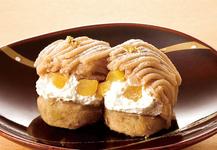 和菓子屋のモンブラン~小波(こなみ)~  1箱9個入り 972円(税込)