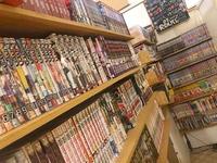 店内には漫画が沢山!