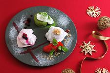 「こななのクリスマス甘味プレート」 950円(税抜)