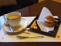 シュークリーム コーヒーセット 648円(税込)