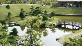 玉泉院丸庭園 回遊式庭園