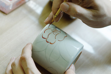 九谷光仙窯 絵付け体験