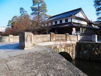 今橋と「旧大原家住宅」