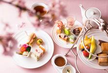 桜アフタヌーンティー おひとり様4000円(税・サービス料込) ※季節によって内容が変わります