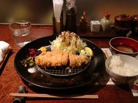 南の島豚 ロースかつ定食(ご飯キャベツおかわり自由) 1598円(税込)