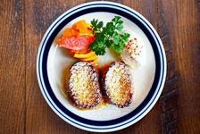 神楽坂フレンチトースト(焼きリンゴと自家製チーズクリーム) 1200円