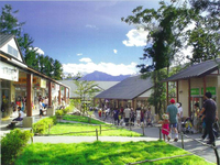 大自然とショッピングを楽しめる「八ヶ岳リゾートアウトレット」