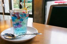 【五色のゼリーポンチ「青の時間」】650円(税込)