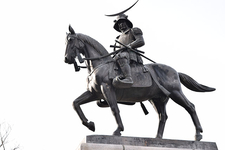 伊達政宗公の騎馬像