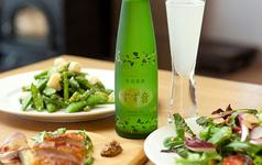 スパークリング日本酒「すず音」