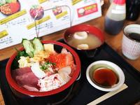 特選さっぽろ朝市丼 1580円(税込)