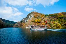 日本五大名狭「帝釈峡」