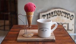 アイスクリーム各450円   エチオピア(HOT)400円