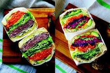 栄養満点の断面サンドウィッチはOLさんの間でも大人気♪