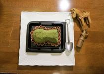 小型前方後円墳ケーキ 540円
