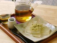 葛餅(和紅茶付き) 500円