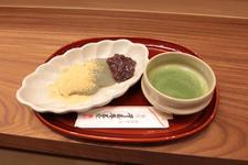 生わらび餅と抹茶のセット 1000円