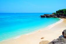 「久高島」のビーチ