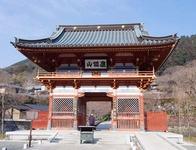 「勝尾寺」の立派な山門