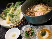 こんなにおいしいお蕎麦と天ぷらをいただけるなんてと感動