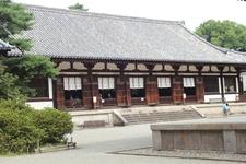 奈良時代から残る宮廷建築の唯一の遺構。