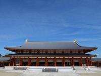 薬師寺内最大のお堂・大講堂は圧巻です。