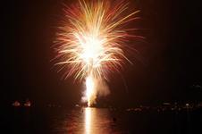 湖水祭の花火