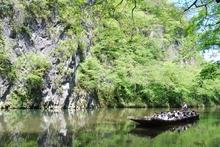 いび 渓 舟 下り げ 猊鼻渓