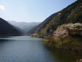 飯能市名栗湖