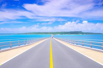 日本一の橋を通る宮古島~伊良部島ドライブプラン