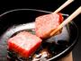 【神戸牛・木の葉鉄板焼き】厳選した神戸牛を使用 ※イメージ